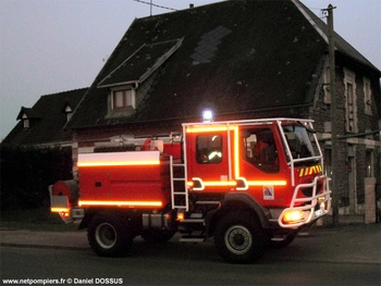 Camion-citerne pour feux de forêts, Sapeurs-pompiers, Aisne (02)
