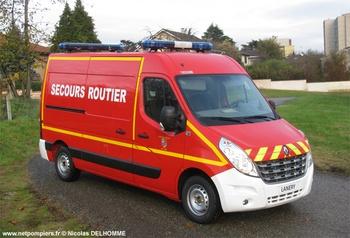 Véhicule de secours routier, Sapeurs-pompiers, Gard (30)