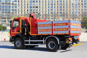 Véhicule de transport de matériel héliporté, Marins-pompiers de Marseille,  ()