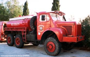 Camion-citerne de grande capacité, Sapeurs-pompiers, Var
