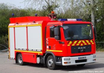 Véhicule de secours routier, Sapeurs-pompiers, Seine-et-Marne (77)