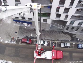 Camion bras élévateur articulé, Sapeurs-pompiers de Paris,  ()