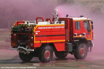 Camion-citerne pour feux de forêts, Formations militaires de la Sécurité civile, Var (83)