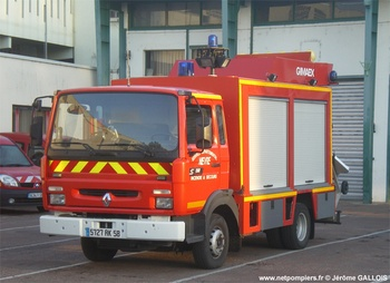 <h2>Véhicule de secours routier - Nevers - Nièvre (58)</h2>