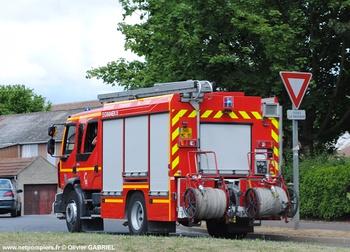 <h2>Fourgon-pompe tonne - Villiers-le-Bel - Val-d'Oise (95)</h2>