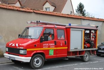 Véhicule de première intervention, Sapeurs-pompiers, Marne