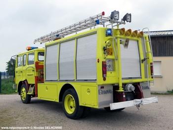 Véhicule de secours routier, Sapeurs-pompiers, Manche (50)