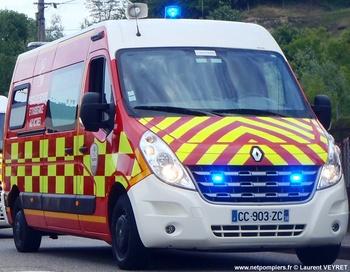 Véhicule de secours et d'assistance aux victimes, Sapeurs-pompiers, Isère (38)