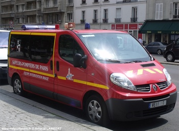 Véhicule des équipes d'intervention image, Sapeurs-pompiers de Paris,  ()