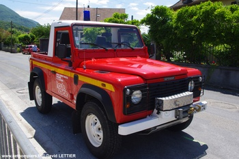 Véhicule de liaison, Sapeurs-pompiers, Haute-Savoie (74)