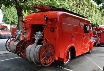 Fourgon d'incendie normalisé, Sapeurs-pompiers, Essonne (91)