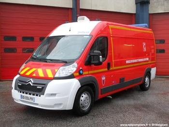 Véhicule de secours et d'assistance aux victimes, Sapeurs-pompiers, Manche (50)