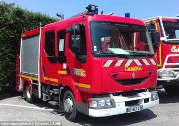 Fourgon-pompe tonne léger, Sapeurs-pompiers, Vaucluse (84)