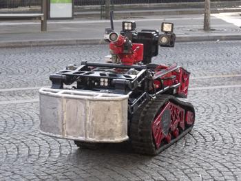 Robot d'assistance opérationnelle, Sapeurs-pompiers de Paris,  ()