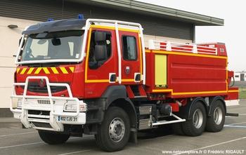 Camion-citerne de grande capacité, Sapeurs-pompiers, Haute-Garonne (31)