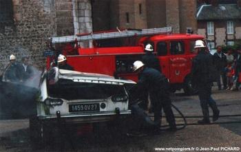 Fourgon-pompe tonne léger, Sapeurs-pompiers, Eure (27)