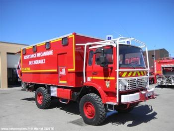 Véhicule d'assistance technique, Sapeurs-pompiers, Hérault (34)