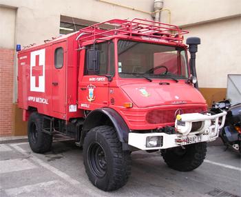 Véhicule poste médical avancé, Marins-pompiers de Marseille, Bouches-du-Rhône