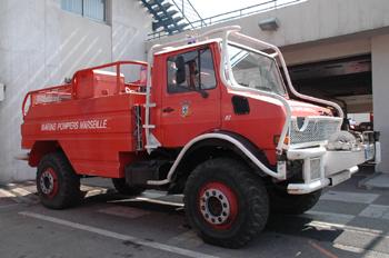 Camion-citerne pour feux de forêts, Marins-pompiers de Marseille, Bouches-du-Rhône (13)