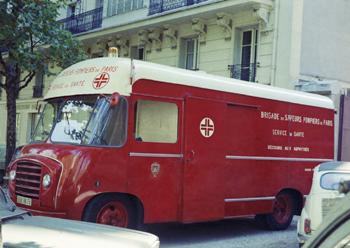 Caisson mobile hyperbare, Sapeurs-pompiers, Paris (75)