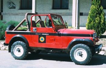 Véhicule de liaison, Formations militaires de la Sécurité civile, Var (83)