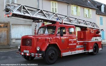 Echelle pivotante, Sapeurs-pompiers, Haute-Vienne (87)