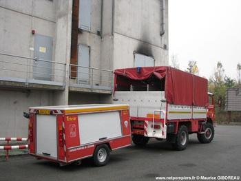 Véhicule de transport de liquide émulseur, Sapeurs-pompiers, Essonne (91)
