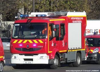 Premier secours, Sapeurs-pompiers de Paris,  ()