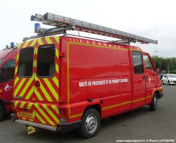 Véhicule pour interventions diverses, Sapeurs-pompiers, Loir-et-Cher (41)
