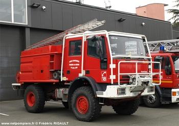 Camion-citerne pour feux de forêts, Sapeurs-pompiers, Loir-et-Cher