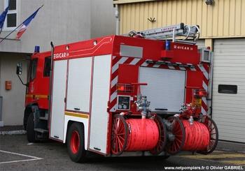 Fourgon-pompe tonne, Sapeurs-pompiers, Yvelines (78)