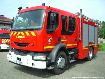 <h2>Fourgon-pompe tonne - Woerth - Bas-Rhin (67)</h2>