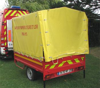 Poste médical avançé, Sapeurs-pompiers, Eure-et-Loir (28)