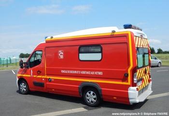 <h2>Véhicule de secours et d'assistance aux victimes - La Bruffière - Vendée (85)</h2>