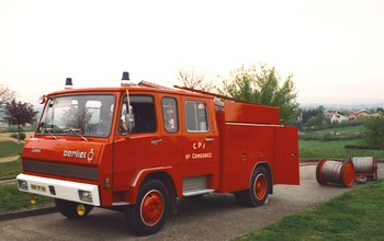 Fourgon-pompe tonne, Sapeurs-pompiers, Rhône (69)