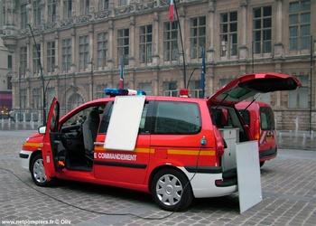 Véhicule  léger poste de commandement, Sapeurs-pompiers, Nord (59)