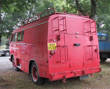 Fourgon d'incendie, Sapeurs-pompiers, Mayenne (53)