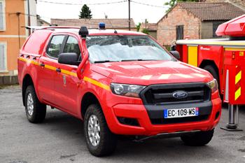Véhicule de liaison, Sapeurs-pompiers, Gard