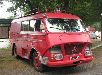 <h2>Fourgon d'incendie - Mayenne (53)</h2>