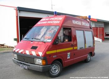 Véhicule de secours routier, Sapeurs-pompiers, Ariège (09)