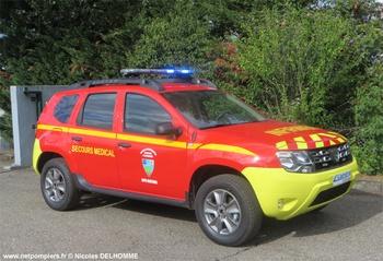 Véhicule léger infirmier, Sapeurs-pompiers, Alpes-Maritimes