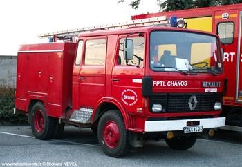 Fourgon-pompe tonne léger, Sapeurs-pompiers, Drôme (26)