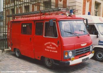 Véhicule de première intervention, Service de sécurité incendie, Yvelines (78)