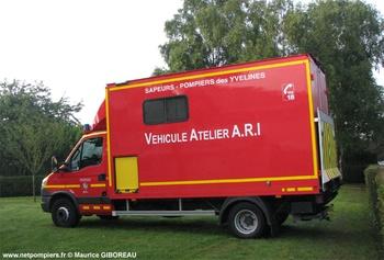 <h2>Véhicule d'assistance technique - Magnanville - Yvelines (78)</h2>