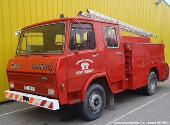 Fourgon-pompe tonne, Sapeurs-pompiers, Ain (01)