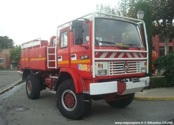 Camion-citerne pour feux de forêts, Sapeurs-pompiers, Vaucluse (84)