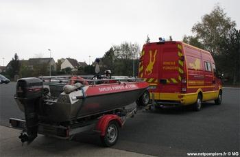 <h2>Véhicule de secours nautique - Sens - Yonne (89)</h2>