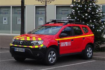 Véhicule de liaison, Sapeurs-pompiers, Haut-Rhin
