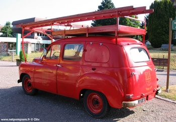 Camionnette d'incendie, Sapeurs-pompiers, Haut-Rhin (68)