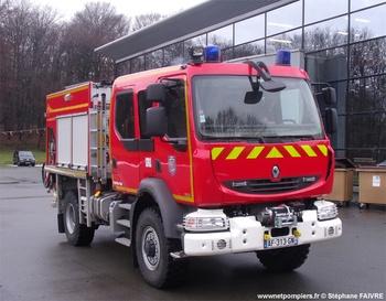 Camion-citerne rural, Sapeurs-pompiers, Territoire-de-Belfort